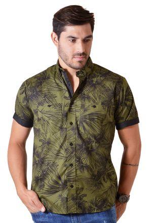 Camisa-casual-masculina-tradicional-algodao-fio-50-verde-f01428a-1