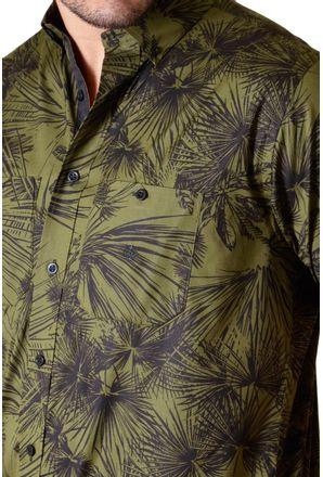 Camisa-casual-masculina-tradicional-algodao-fio-50-verde-f01428a-3