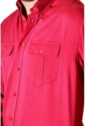 Camisa-casual-masculina-tradicional-viscose-vermelho-f00481a-3