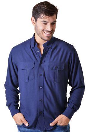 Camisa-casual-masculina-tradicional-viscose-azul-escuro-f00481a-1