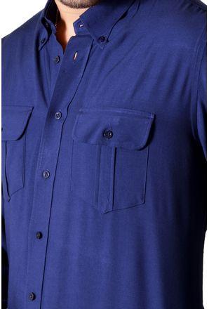 Camisa-casual-masculina-tradicional-viscose-azul-escuro-f00481a-3