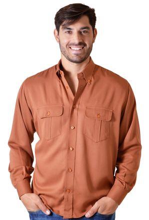 Camisa-casual-masculina-tradicional-viscose-laranja-f00481a-1