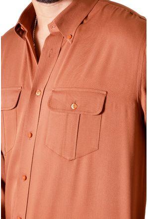 Camisa-casual-masculina-tradicional-viscose-laranja-f00481a-3