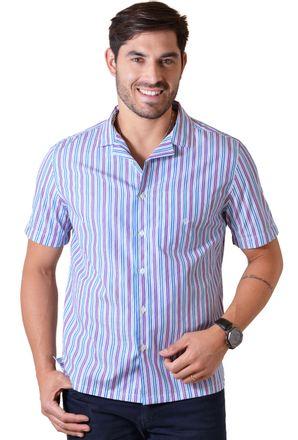 Camisa-casual-masculina-tradicional-algodao-fio-60-roxo-f01506a-1