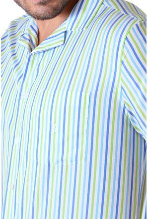 Camisa-casual-masculina-tradicional-algodao-fio-60-verde-claro-f01506a-3