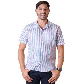Camisa-casual-masculina-tradicional-algodao-fio-60-salmao-f01506a-1