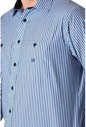 Camisa-casual-masculina-tradicional-algodao-fio-50-azul-f01410a-3