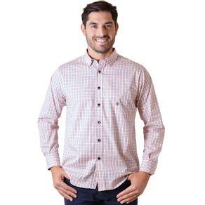 Camisa-casual-masculina-tradicional-algodao-fio-50-rosa-f01410a-1