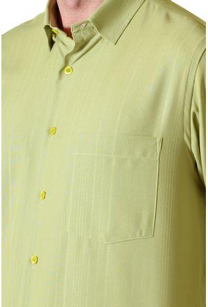 Camisa-casual-masculina-tradicional-microfibra-verde-claro-f06208a-3