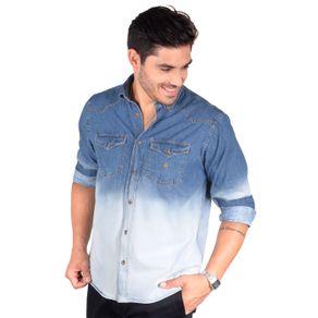 Camisa-casual-masculina-tradicional-jeans-azul-f01826a-1