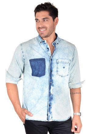 Camisa-casual-masculina-tradicional-jeans-azul-f01816a-1