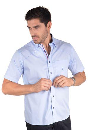 Camisa-casual-masculina-tradicional-algodao-fio-50-azul-f01243a-1
