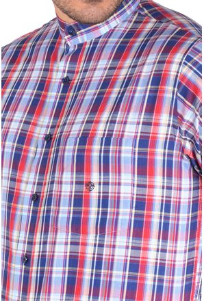 Camisa-casual-masculina-tradicional-algodao-fio-40-azul-f01410a-3