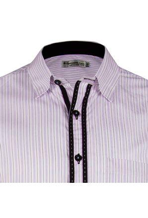 Camisa-casual-masculina-tradicional-algodao-fio-60-vermelho-f01195a-3