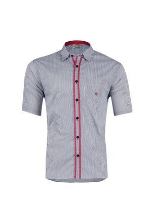 Camisa-casual-masculina-tradicional-algodao-fio-60-preto-f01195a-1