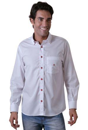 Camisa-casual-masculina-tradicional-algodao-fio-80-branco-f01238a-1