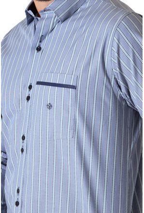 Camisa-casual-masculina-tradicional-algodao-fio-50-verde-f01203a-3