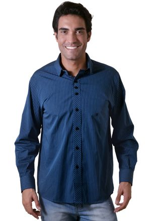 Camisa-casual-masculina-tradicional-algodao-fio-50-azul-f01171a-1