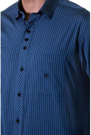 Camisa-casual-masculina-tradicional-algodao-fio-50-azul-f01171a-3