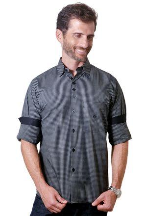 Camisa-casual-masculina-tradicional-algodao-fio-50-verde-f01354a-1