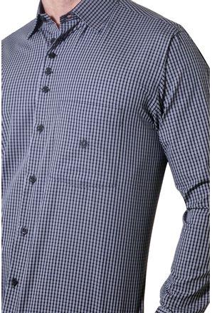 Camisa-casual-masculina-tradicional-algodao-fio-50-preto-f01354a-3