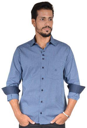 Camisa-casual-masculina-tradicional-algodao-fio-50-azul-f01353a-1