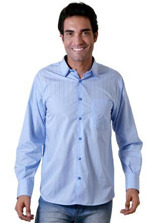 Camisa-casual-masculina-tradicional-algodao-fio-60-azul-f01315a-1