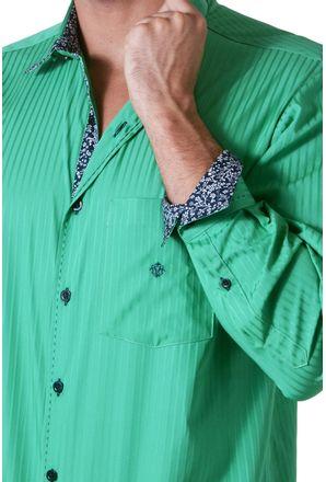 Camisa-casual-masculina-tradicional-algodao-fio-60-verde-f01315a-01-3