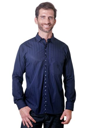 Camisa-casual-masculina-tradicional-algodao-fio-60-azul-escuro-f01309a-1