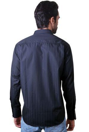 Camisa-casual-masculina-tradicional-algodao-fio-60-preto-f01314a-3