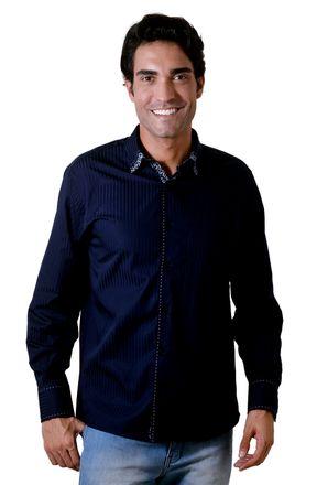Camisa-casual-masculina-tradicional-algodao-fio-60-azul-escuro-f01311a-1