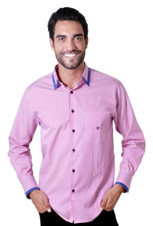 Camisa-casual-masculina-tradicional-algodao-fio-60-pink-f01151a-1