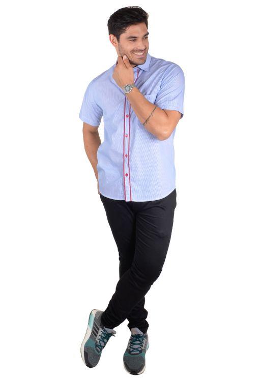 Camisa-casual-masculina-tradicional-algodao-fio-60-azul-medio-f01277a-4