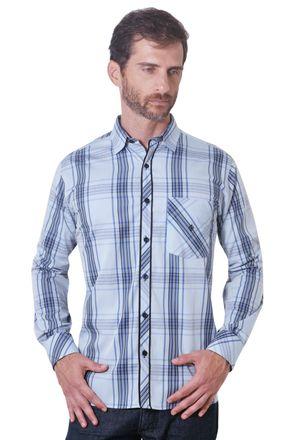 Camisa-casual-masculina-tradicional-algodao-fio-50-azul-f01366a-1