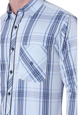 Camisa-casual-masculina-tradicional-algodao-fio-50-azul-f01366a-3