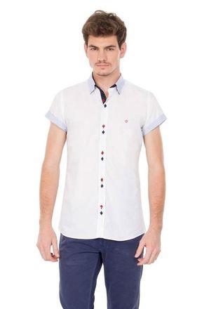 Camisa-casual-masculina-slimfit-algodao-fio-50-branco-f01428f-1
