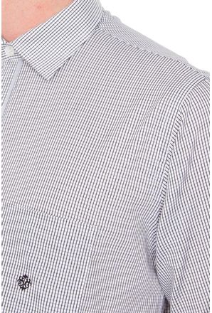 Camisa-casual-masculina-tradicional-algodao-fio-60-cinza-f01408a-3