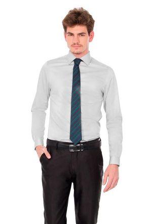 Camisa-social-masculina-slim-algodao-fio-80-cinza-f05421s-1