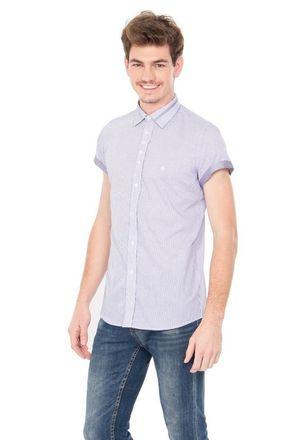 Camisa-casual-masculina-slimfit-algodao-fio-60-lilas-f01397f-1