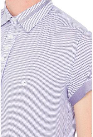 Camisa-casual-masculina-slimfit-algodao-fio-60-lilas-f01397f-3