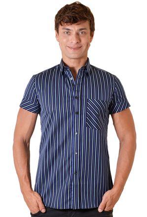 Camisa-casual-masculina-slimfit-algodao-fio-80-roxo-f01422f-1