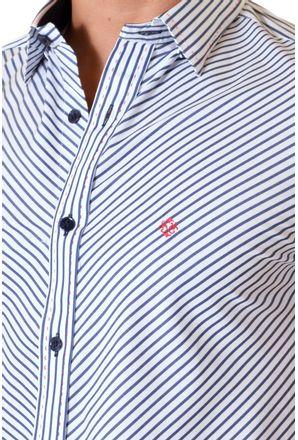 Camisa-casual-masculina-slimfit-algodao-fio-80-branco-f11432f-3