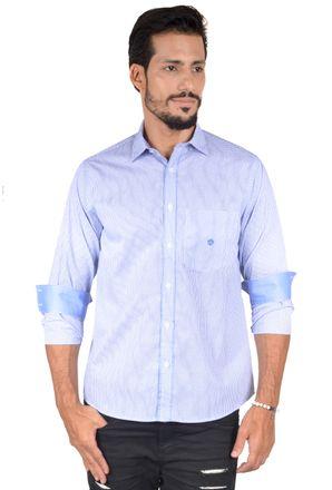 Camisa-casual-masculina-tradicional-algodao-fio-60-azul-f01408a-1
