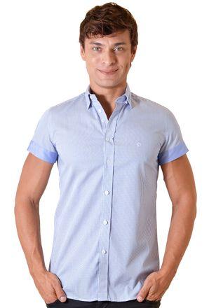 Camisa-casual-masculina-slimfit-algodao-fio-60-azul-f01398f-1