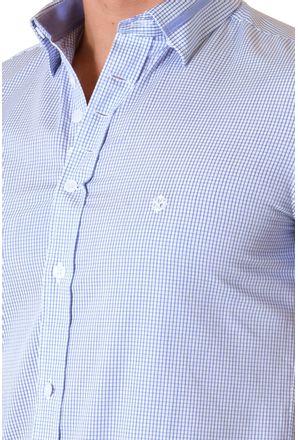 Camisa-casual-masculina-slimfit-algodao-fio-60-azul-f01398f-3