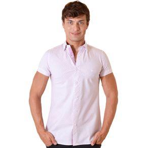 Camisa-casual-masculina-slimfit-algodao-fio-60-rosa-f01399f-1
