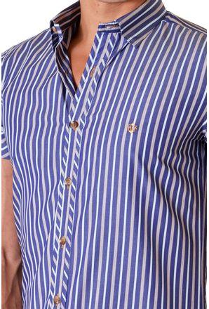 Camisa-casual-masculina-slimfit-algodao-fio-60-azul-escuro-f01427f-3