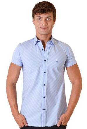 Camisa-casual-masculina-slimfit-algodao-fio-80-lilas-f01433f-1