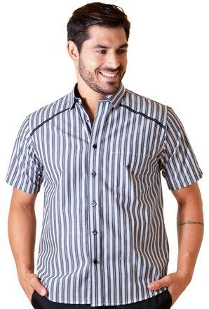 Camisa-casual-masculina-tradicional-algodao-fio-50-preto-f01196a-1