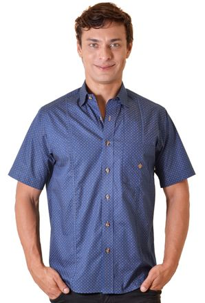 Camisa-casual-masculina-tradicional-algodao-fio-50-azul-escuro-f01611a-1